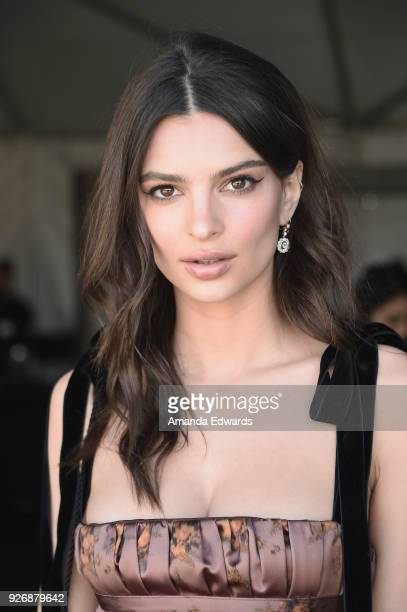 Emily Ratajkowski attends the 2018 Film Independent Spirit Awards on March 3 2018 in Santa Monica California