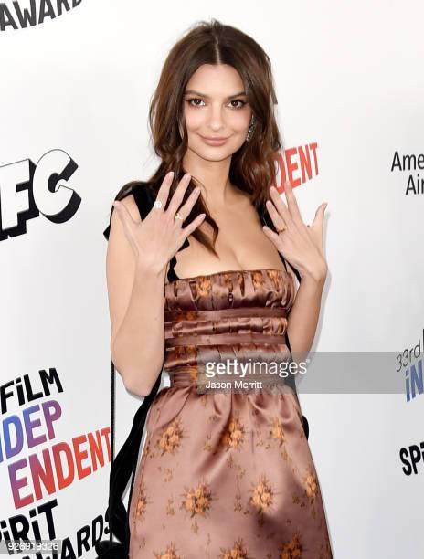 Emily Ratajkowski attends the 2018 Film Independent Spirit Awards on March 3 2018 in Santa Monica California