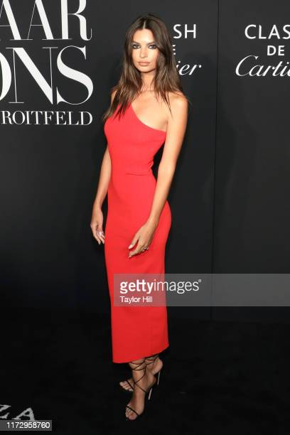 Emily Ratajkowski attends the 2019 Harper ICONS Party at The Plaza Hotel on September 06, 2019 in New York City.