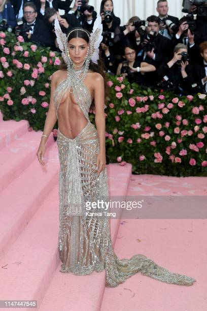 Emily Ratajkowski attends The 2019 Met Gala Celebrating Camp Notes On Fashion at The Metropolitan Museum of Art on May 06 2019 in New York City