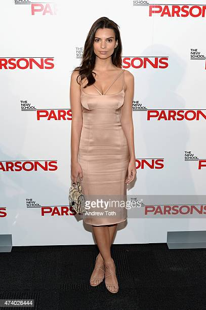 Emily Ratajkowski attends the 67th Annual Parsons Fashion Benefit at River Pavillion at the Jacob Javitz Center on May 19, 2015 in New York City.
