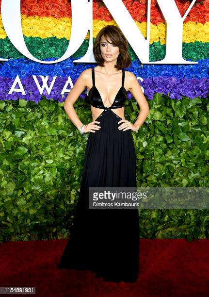 Emily Ratajkowski attends the 73rd Annual Tony Awards at Radio City Music Hall on June 09 2019 in New York City