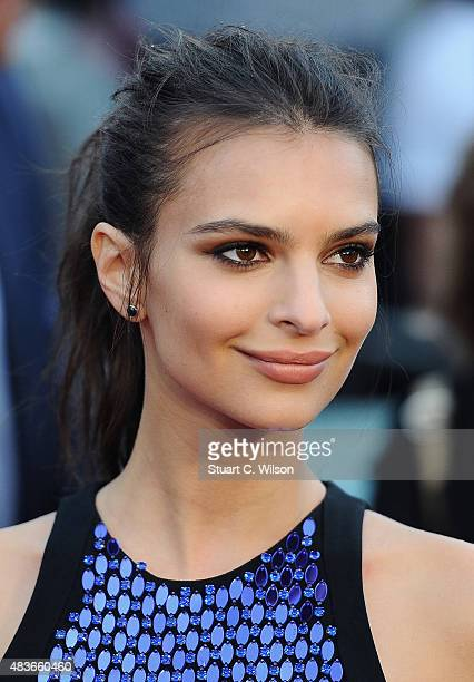 Emily Ratajkowski attends the European Premiere of 'We Are Your Friends' at Ritzy Brixton on August 11 2015 in London England