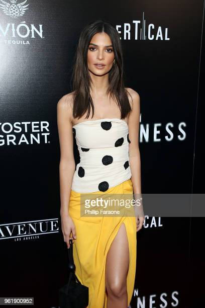 Emily Ratajkowski attends the premiere of Vertical Entertainment's In Darkness at ArcLight Hollywood on May 23 2018 in Hollywood California
