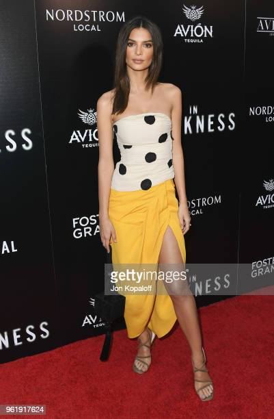 Emily Ratajkowski attends the premiere of Vertical Entertainment's 'In Darkness' at ArcLight Hollywood on May 23 2018 in Hollywood California