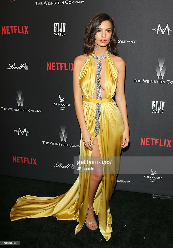 2017 Weinstein Company And Netflix Golden Globes After Party - Arrivals : News Photo