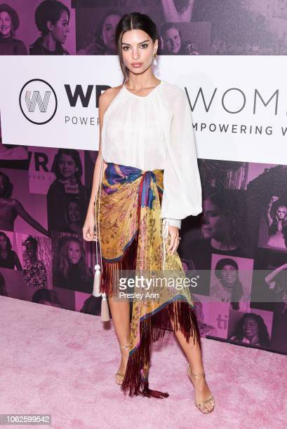Emily Ratajkowski attends TheWrap's Power Women SummitDay 2 at InterContinental Los Angeles Downtown on November 01 2018 in Los Angeles California