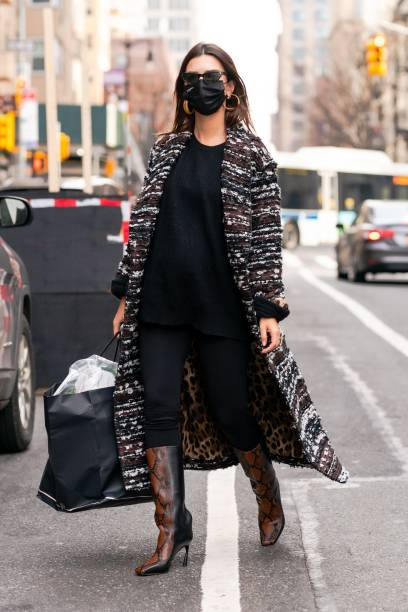 NY: Celebrity Sightings In New York City - January 14, 2021