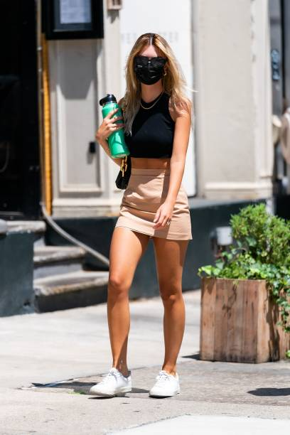 NY: Celebrity Sightings In New York City - July 12, 2020