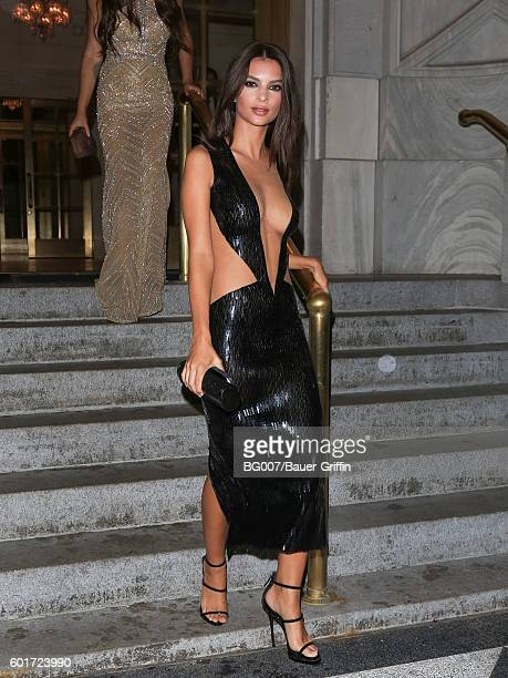 Emily Ratajkowski is seen on September 09 2016 in New York City