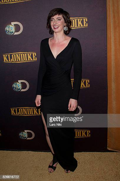 Emily Riedel attends the Klondike series premiere at the Best Buy Theater in New York City �� LAN