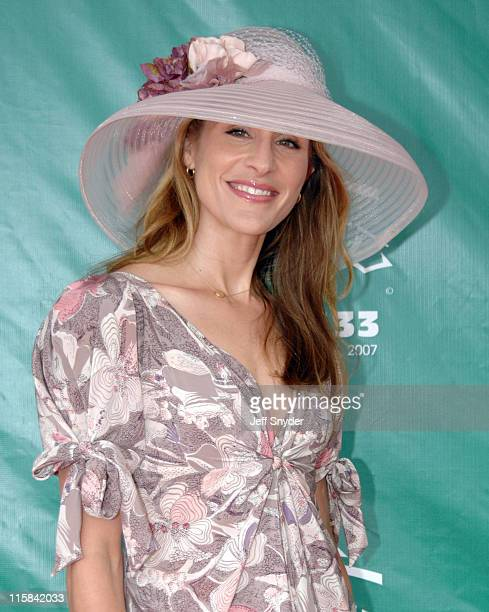 Emily Robinson during 133rd Kentucky Derby Arrivals at Churchill Downs in Louisville Kentucky United States