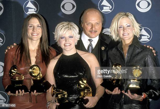 Emily Robison Natalie Maines and Martie Maguire and Dennis Franz