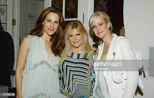 Emily Robison Natalie Maines and Martie Maguire of the Dixie Chicks at the Private Residence in Chatsworth California