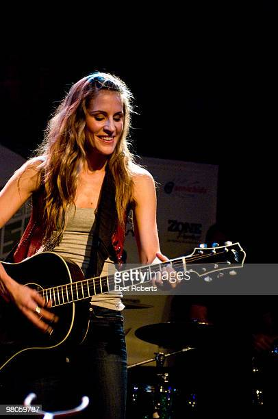 AUSTIN TX MARCH 18 Emily Robison of The Court Yard Hounds performing at Antone's during day two of SXSW Festival on March 18 2010 in Austin Texas