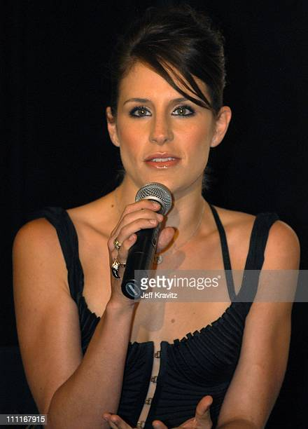 Emily Robison of the Dixie Chicks during Dixie Chicks Join Forces with Rock the Vote at Casa Del Mar in Santa Monica California United States