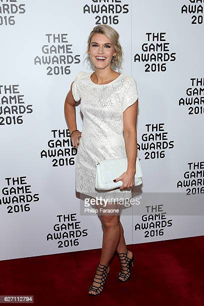 Emily Rose attends the 2016 Game Awards at Microsoft Theater on December 1 2016 in Los Angeles California