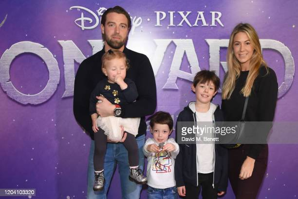 Emily Rose Ross and Family attend a special screening of Onward at the Picturehouse Central on February 29 2020 in London England