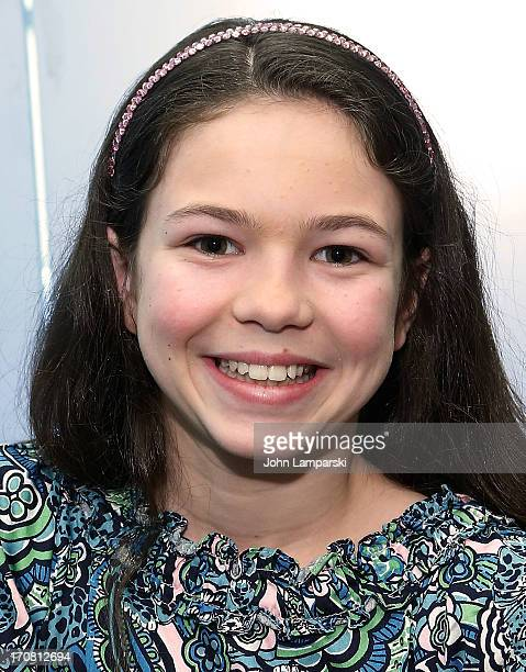 Emily Rosenfeld attends the AnnieThe Musical Cast Album Signing at Barnes Noble Citigroup Center on June 18 2013 in New York City