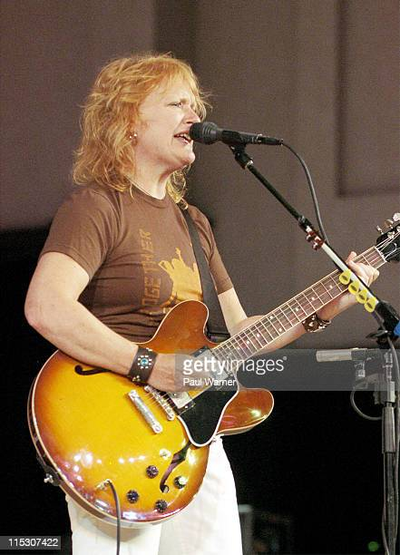 Emily Saliers of Indigo Girls during Concert of Colors Featuring Ladysmith Black Mambazo and Indigo Girls at Max M Fisher Music Center in Detroit...