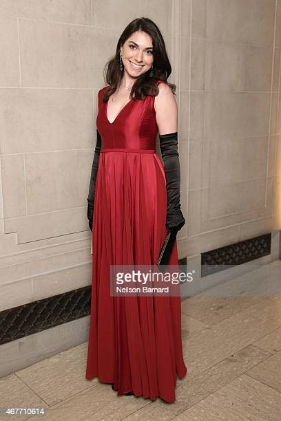 Emily Sardarian attends the The Frick Collection 2015 Young Fellows Ball A Dance at the Spanish Court sponsored by LANVIN at The Frick Collection on...
