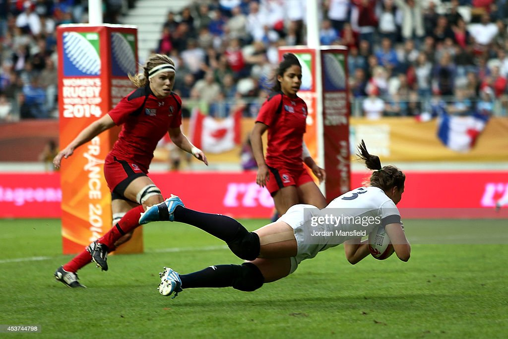 England v Canada - Final IRB Women's Rugby World Cup 2014