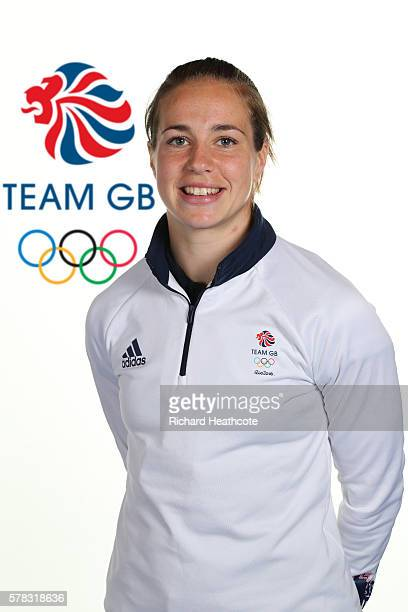 Emily Scarratt poses for a portrait during the Team GB Kitting Out ahead of Rio 2016 Olympic Games on July 7 2016 in Birmingham England