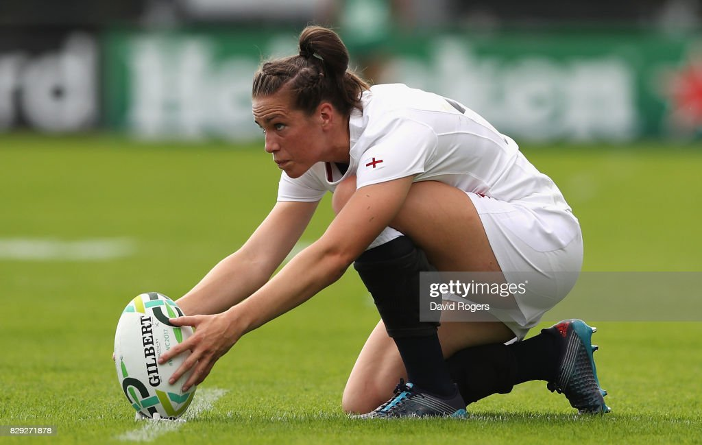 England v Spain - Women's Rugby World Cup 2017