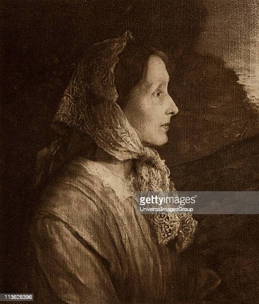 Emily Selwood, Mrs Tennyson, married in 1850 to Tennyson Alfred Tennyson, 1st Baron,byname Alfred, Lord Tennyson, 1809-1892. English poet...