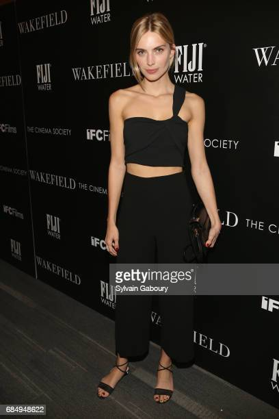Emily Senko attends The Cinema Society and FIJI Water host a screening of IFC Films' 'Wakefield' on May 18 2017 in New York City