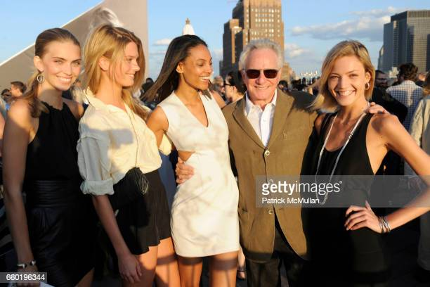 Emily Senko Sophia Lie Ariel Meredith David Yurman and Barbara Berger attend DAVID YURMAN Annual Summer Rooftop Party at David Yurman on July 14 2009...