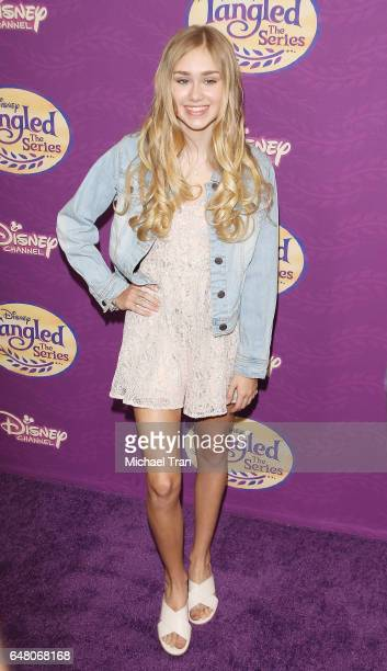 Emily Skinner arrives at Disney's Tangled Before Ever After held at The Paley Center for Media on March 4 2017 in Beverly Hills California