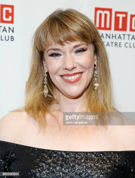 Emily Skinner attends 2017 Manhattan Theatre Club Fall Benefit at 583 Park Avenue on October 23 2017 in New York City