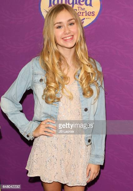 Emily Skinner attends a screening of Disney's 'Tangled Before Ever After' on March 04 2017 in Beverly Hills California