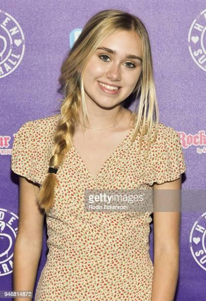 Emily Skinner attends Hayden Summerall's 13th Birthday Bash at Bardot on April 15 2018 in Hollywood California