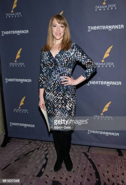 Emily Skinner attends the 2017 Drama Desk Nominees Reception at Marriott Marquis Times Square on May 10 2017 in New York City
