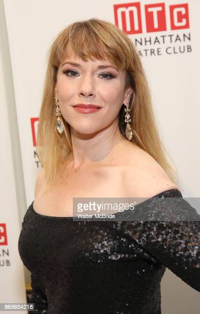 Emily Skinner attends the 2017 Manhattan Theatre Club Fall Benefit honoring Hal Prince on October 23 2017 at 583 Park Avenue in New York City