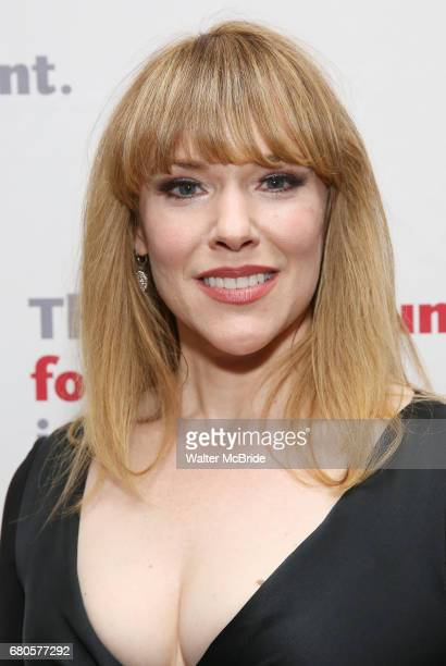 Emily Skinner attends The Actors Fund Annual Gala at the Marriott Marquis on 5/8//2017 in New York City