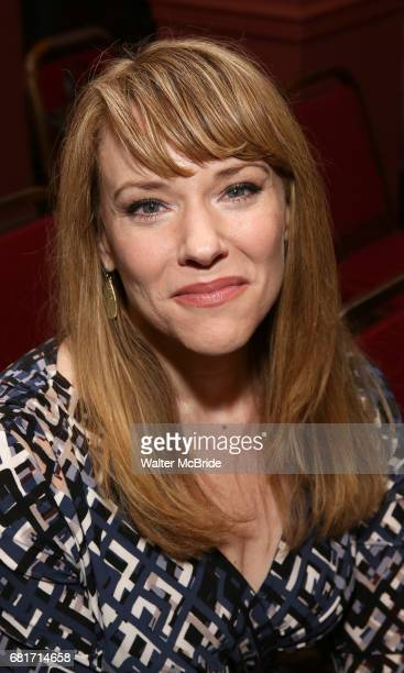 Emily Skinner attends the The Robert Whitehead Award presented to Mike Isaacson at Sardi's on May 10 2017 in New York City