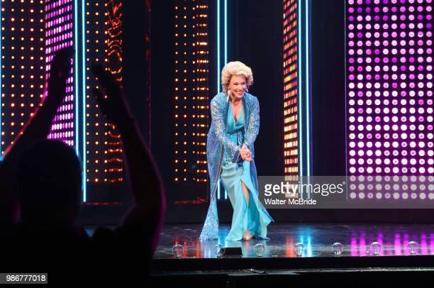 Emily Skinner during the PreBroadway premiere opening night curtain call for 'The Cher Show' at the Oriental Theatre on June 28 2018 in Chicago