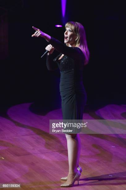 Emily Skinner performs onstage at the Lincoln Center Hall Of Fame Gala at the Alice Tully Hall on June 6 2017 in New York City