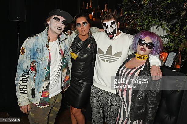 Emily Sonnett James Suckling and Jaime Winstone attend the Veuve Clicquot Widow Series A Beautiful Darkness curated by Nick Knight and SHOWstudio on...