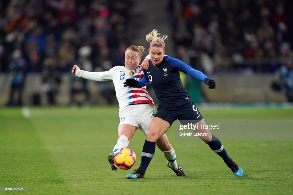 France Women v USA Women - International Friendly : Photo d'actualité