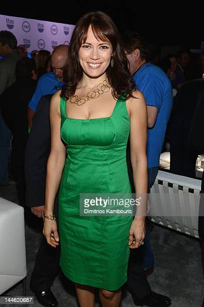 Emily Swallow attends the TNT/ TBS Upfront 2012 at Hammerstein Ballroom on May 16 2012 in New York City 22362_003_0370JPG