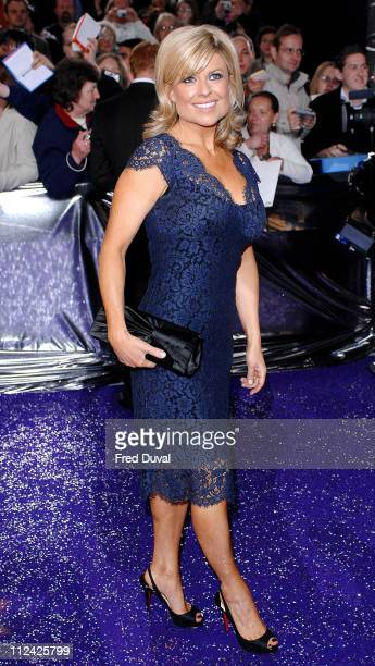Emily Symons during British Soap Awards Red Carpet Arrivals at BBC Television Centre in London Great Britain