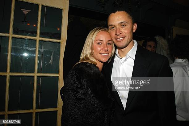 Emily Threlkeld and Harold Ford attend Ronald Perelman's Dinner in Honor of Sheryl Crow and the Launch of the REVLON COLORIST Campaign at The Waverly...