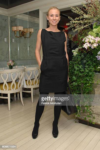 Emily Threlkeld attends BERGDORF GOODMAN hosts Cocktails for OLIVIER THEYSKENS of NINA RICCI at Bergdorf Goodman on October 30 2007 in New York City