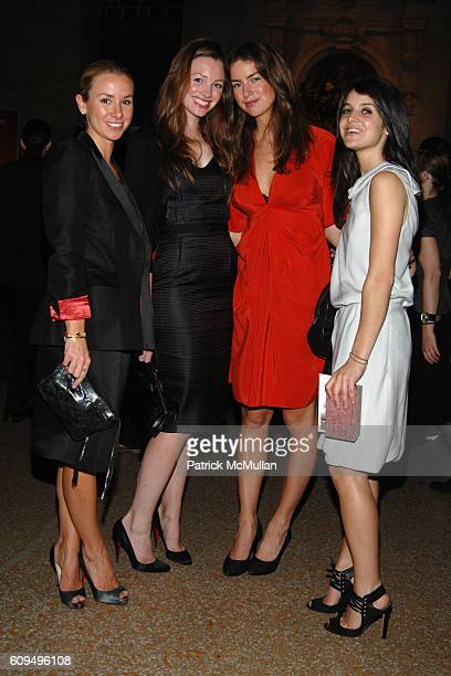 Emily Threlkeld Jessica Sailer Claiborne Swanson and Katie Opalich attend NINA RICCI and OLIVIER THEYSKENS host The Opening of The Joyce and Robert...