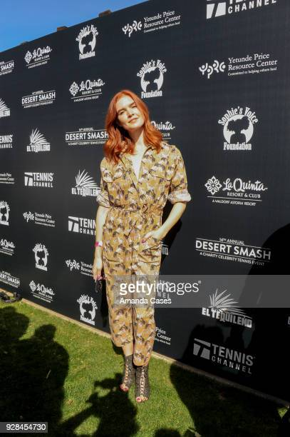 Emily Tyra arrives at The 14th Annual Desert Smash Celebrity Tennis Event on March 6 2018 in La Quinta California