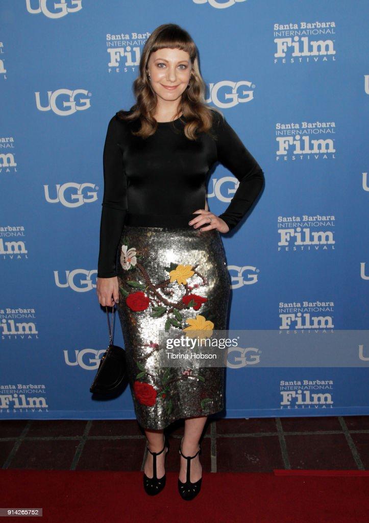 Emily V. Gordon attends the 33rd Annual Santa Barbara International Film Festival Virtuosos Award Presentation at Arlington Theatre on February 3, 2018 in Santa Barbara, California.